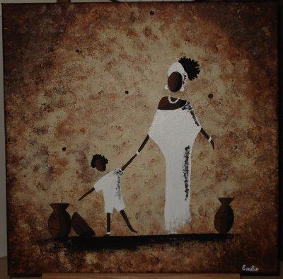 Mama et son enfant