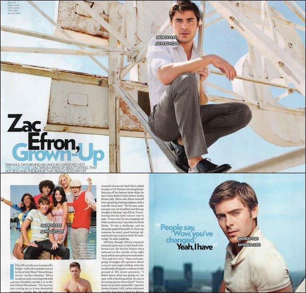 ------- Scans du magazine américain People qui paraîtra le 30 avril 2012.-------