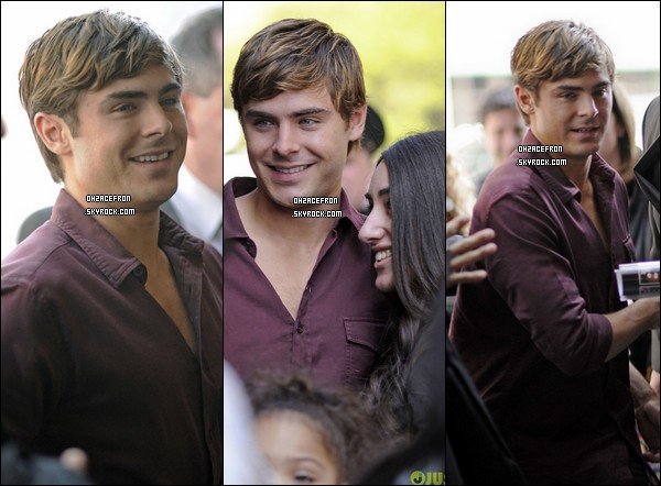 -------  21.04.12 | Zac arrivant sur le sol londoniens pour la promotion de The Lucky One. -------