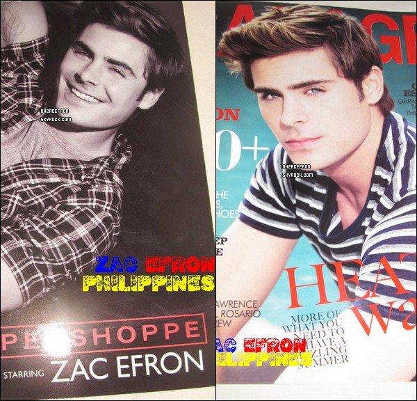 -------  Zac est dans le magazine Philippin Garage qui s'appuie sur le photoshoot de Penshoppe.. -------