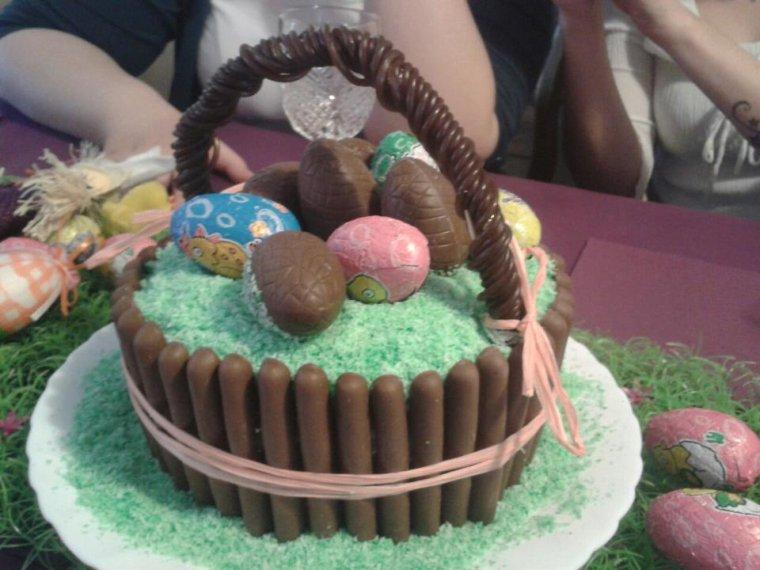 Gateau de Pâques !!
