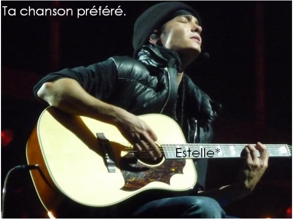 ▌ Ta ou tes chanson(s) préférée(s) ▐
