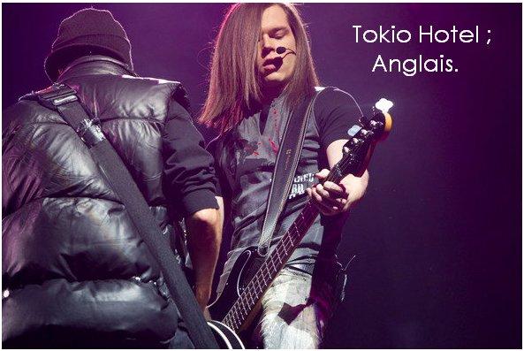 ▌ Tokio Hotel en Anglais pour ou contre ? ▐