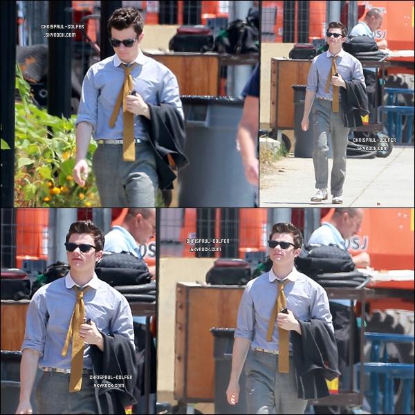 11 Août 2011 : Voici les premières photos du tournage de la saison 3 de Glee.