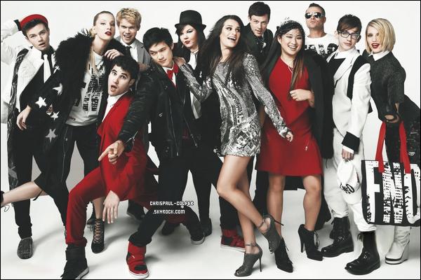 Le cast de la série a posé pour l'édition du mois de septembre du magazine « Vogue ».
