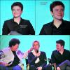 """15 Août 2011 : Chris était à l'évènement """"Sing-A-Long"""" consacré à la série en compagnie de Jane Lynch, Dot Jones, Kevin Mc Hale, Harry Shum, Kristin Chenoweth et Mike O'Malley."""