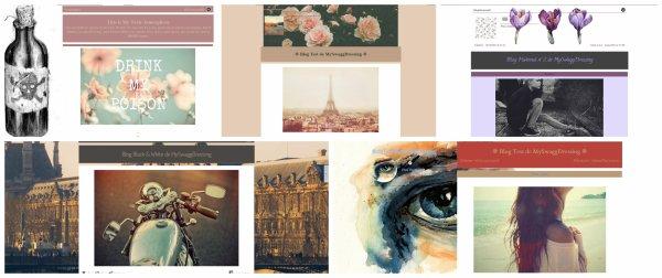 Quelques exemples de mes créations