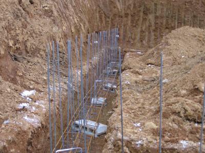 Armature fouilles construction de ma future villa for Prise de terre fond de fouille