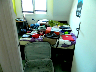Packing your stuff for 1 year