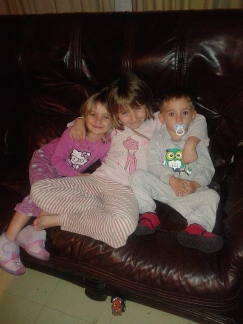 mes trois enfants je vous aiment