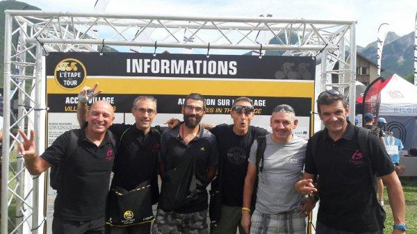DIMANCHE 16 JUILLET ETAPE DU TOUR A BRIANCON
