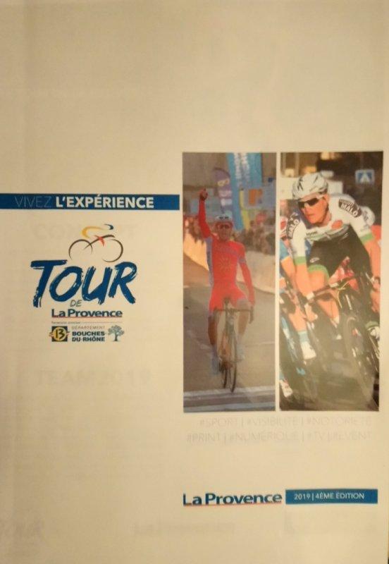 4° TOUR CYCLISTE LA PROVENCE AU DEPART D'ISTRES LE 15 FEVRIER 2019