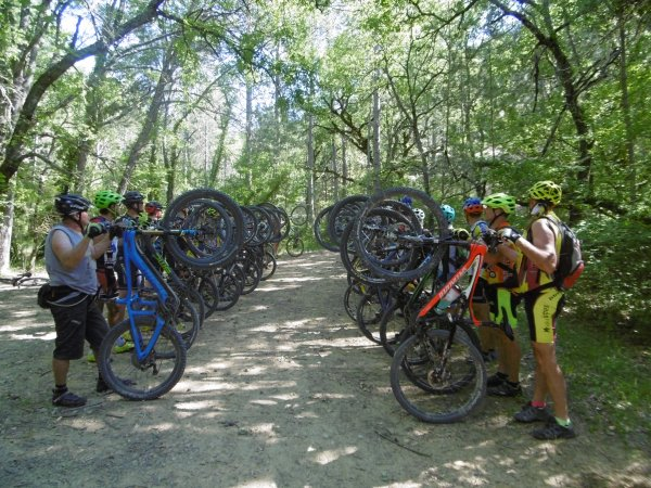 WEEK END VTT EN LUBERON