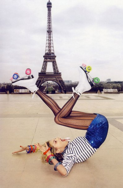 VOGUE IN PARIS PAR TERRY RICHARDSON.