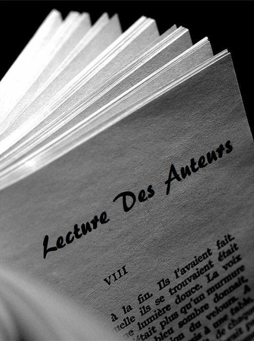 Lectures Des Auteurs