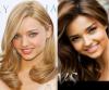 Miranda kerr : Blonde vs brune