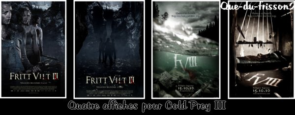 Affiches Cold Prey 3