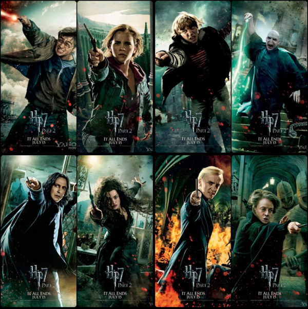 HP 7 : nouvelles affiches