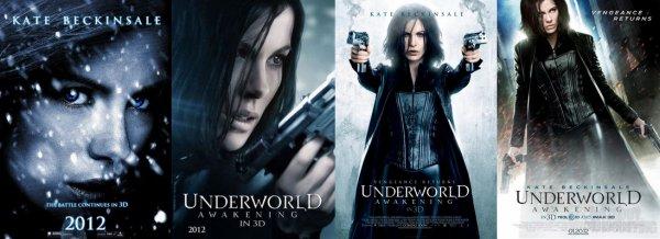 Underworld 4 - Nouvelle ère : nouvelles affiches