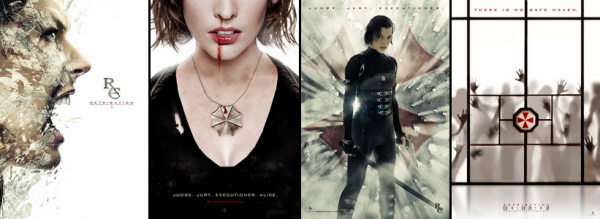 Affiches : Resident Evil - Retribution