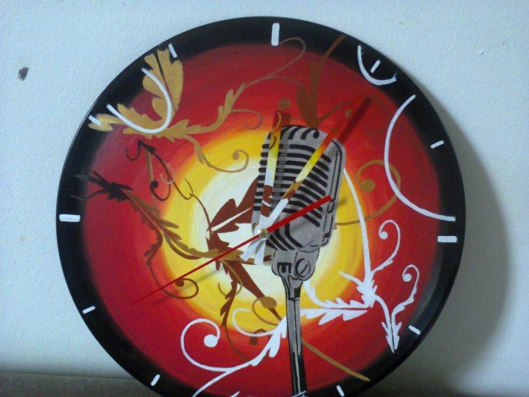 Nouvelles horloges vinyl