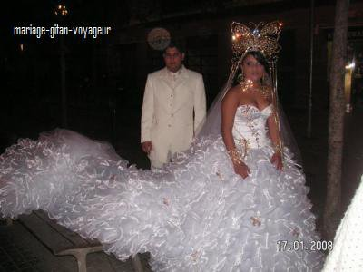 Robe de mariage gitan a vendre