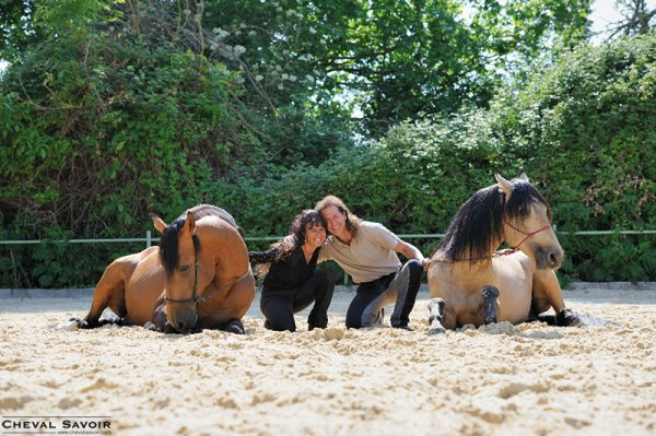 Frédéric Pignon et Magali Delgado : « Nous cherchons à utiliser tous les sens dans notre relation au cheval »