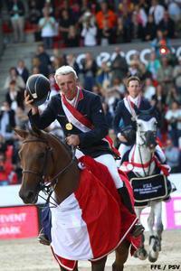 Roger Yves Bost nouveau champion d'Europe de CSO