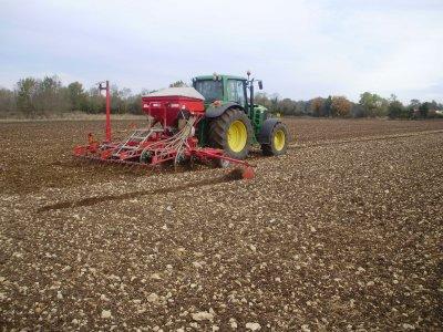 au semi de blé 2010