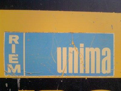 la pellteuse de l'UNIMA