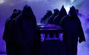 undertaker est dans le cercueille