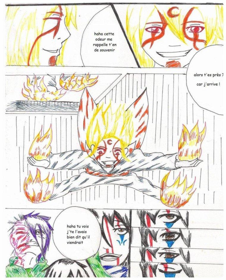un teste pour apprendre a faire des planche pour manga ^^