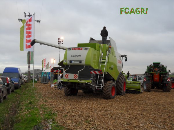 Démonstration Claas & Amazone HHsud