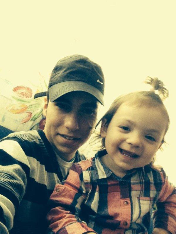 mon frere et ma nièce