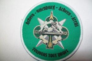 patch ancien du 601 éme Régiment de Circulation et  Routière ACHERN (allemagne)
