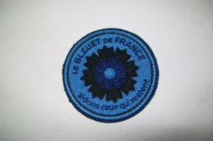 Patch Bleuet de  France ( version armée de l' air et de l'espace )