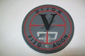 patch Gendarmerie Nationale Antenne GIGN  PI2G  DIJON (Cote d Or)