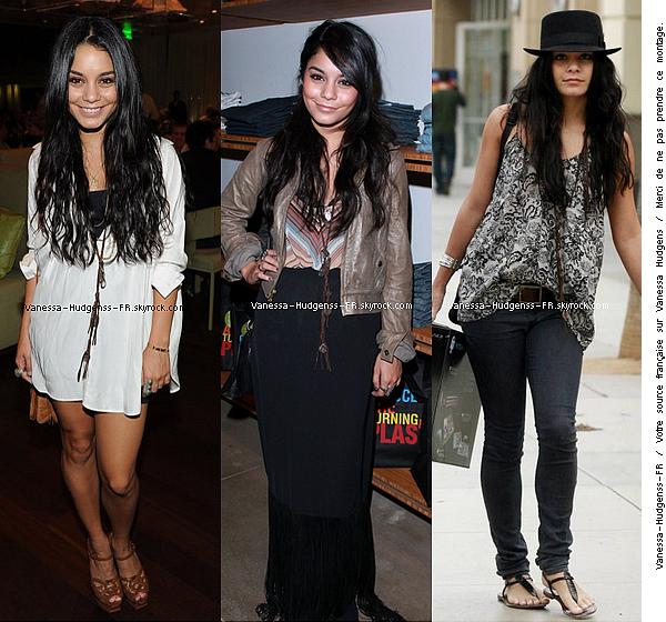 Quelle est ta tenue préféré que Vanessa a porté au moi d'Octobre ? La pire ?