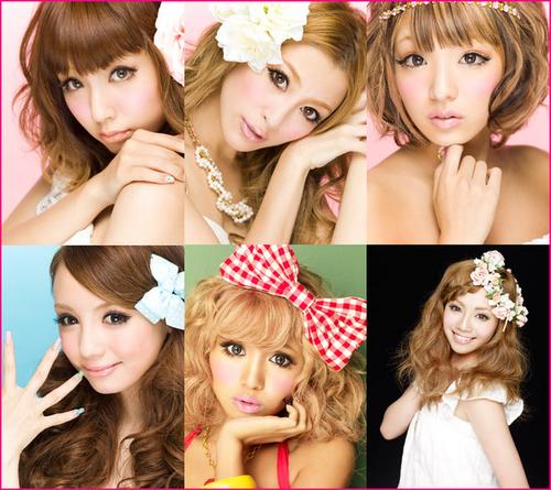 Les différents styles de Gyaru