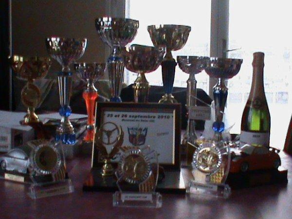 total de coupe pour la saison 2010 : 17coupe