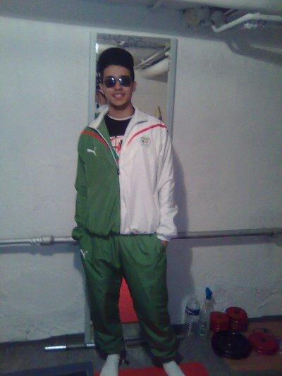 moi en mode algerie