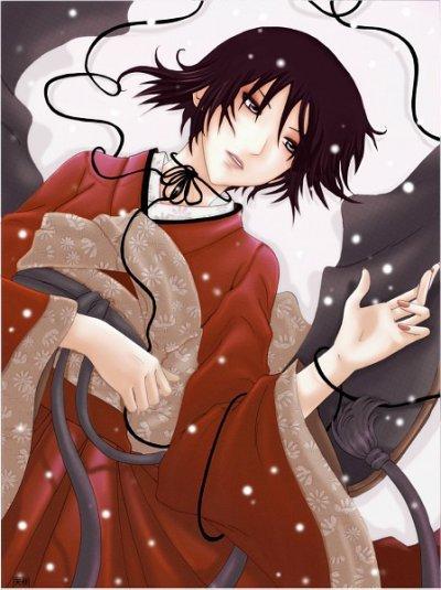 Petite série d'images manga :