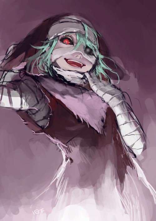 Une petite série d'images mangas... Sur le thème de Tokyo Ghoul. ^^