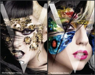 Photos de GaGa issue d'un shooting « V Magazine Asia »