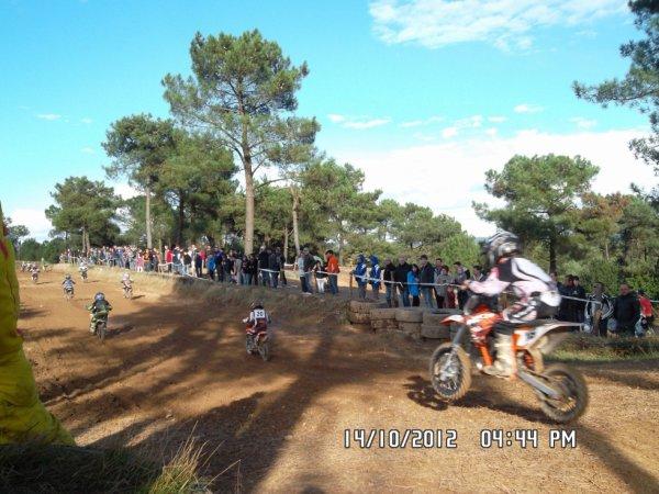 Jounée moto cross sur le circuit de Bignan (56)