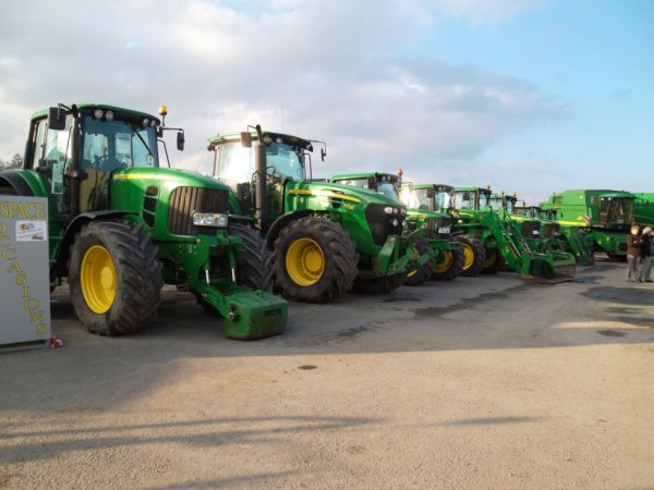 Portes ouvertes de la concession Johndeere de Pontivy