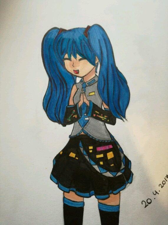 Miku Hatsune (cosplay)