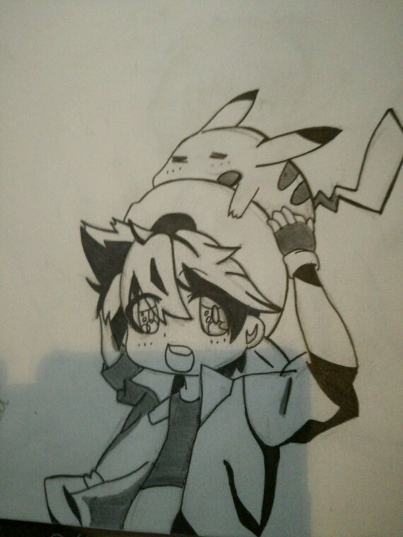 Dessin Pokémon: Red