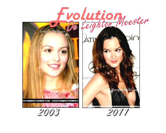 Leighton Meester, Evolution