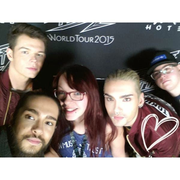 tokio hotel meet et great Frankfort le 14 mars 2015